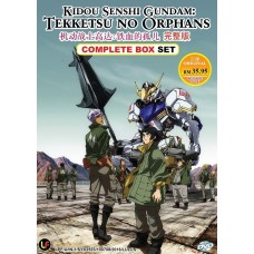 Kidou Senshi Gundam: Tekketsu no Orphans (TV 1 - 25 End) DVD
